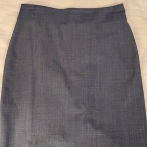 Banana Republic Light Blue Pencil Skirt 2P